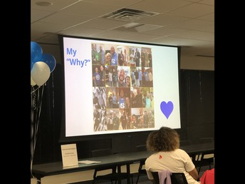 """Dr. Chavis shares his """"My Why"""""""