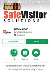 SafeVisitor Mobile App Release!!!  Find your badge quickly when you come to visit!