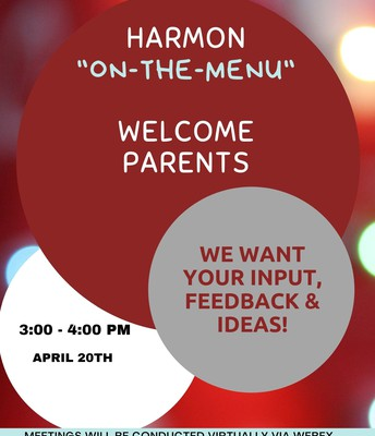 Parents - Join us on April 20th
