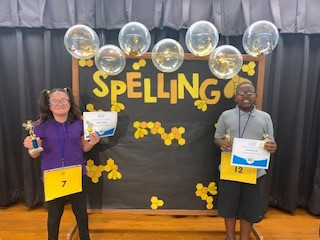 Spelling Bee Winner & Runner Up