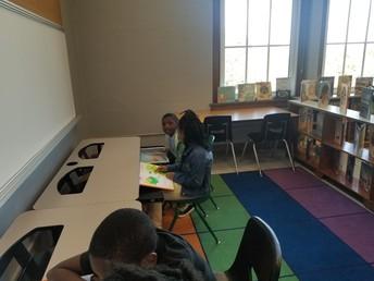 Technology + Writing Corner