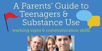 "A presentation on ""A Parents' Guide to Teenagers and Substance Use"" is on Nov. 21."