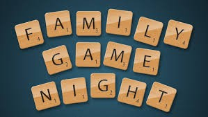 APRIL 12 Family Game Night
