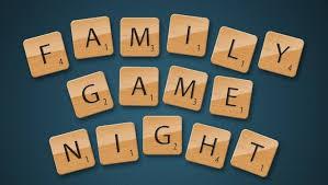 APRIL 12 Family Game Night