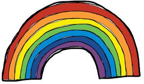 Tuesday Rainbow Day Colors