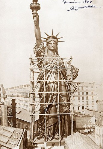 Statue of Liberty dedicated