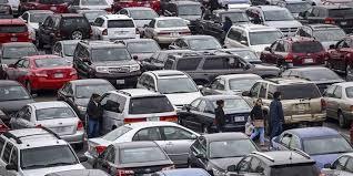 Parking this week at Goodman
