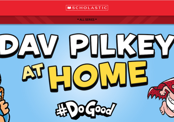 Dav Pilkey at Home Website