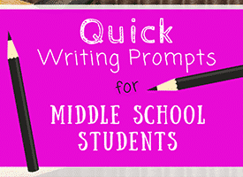 AVID: Quickdraws and Quickwrites