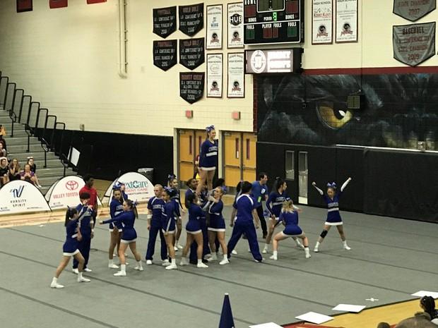 CHS Cheer Team