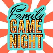 Family Game Night, Friday, Sept. 27th