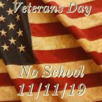 No School 11/11