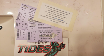 Tides Raffle Tickets