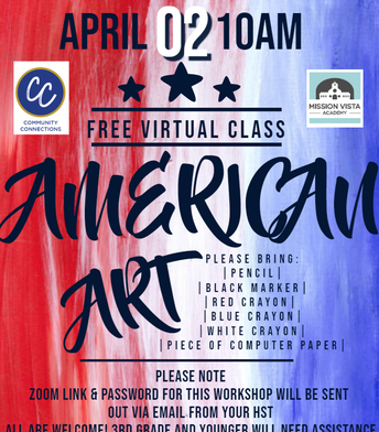 VIRTUAL Community Connections American Art Virtual Class