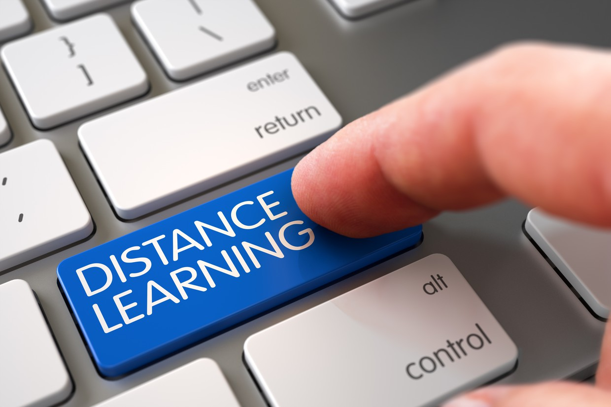 Distance learning home page