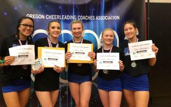 All-State Cheerleaders