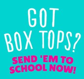 Schoolwide Box Tops Contest Ends February 14!