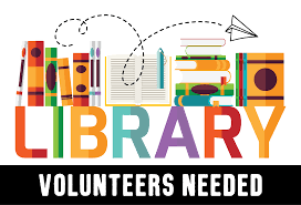 Library Volunteers Needed May 28th and 29th