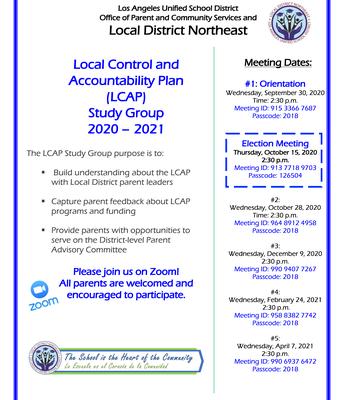 LCAP Study Group
