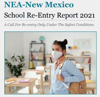 NEA-NM Releases a Survey of 3,000+ Educators on School Re-entry