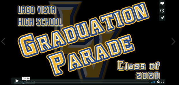 Click to watch the epic Class of 2020 Graduation Parade