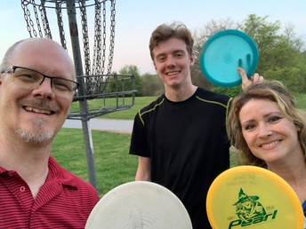 Disc golf with the Smiths!