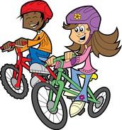 Alumnos que se van en auto, caminando o en bicicleta