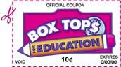 School-wide Box Tops Contest