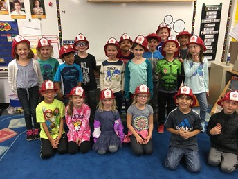 Learning about Fire Safety- October is Fire Prevention Month