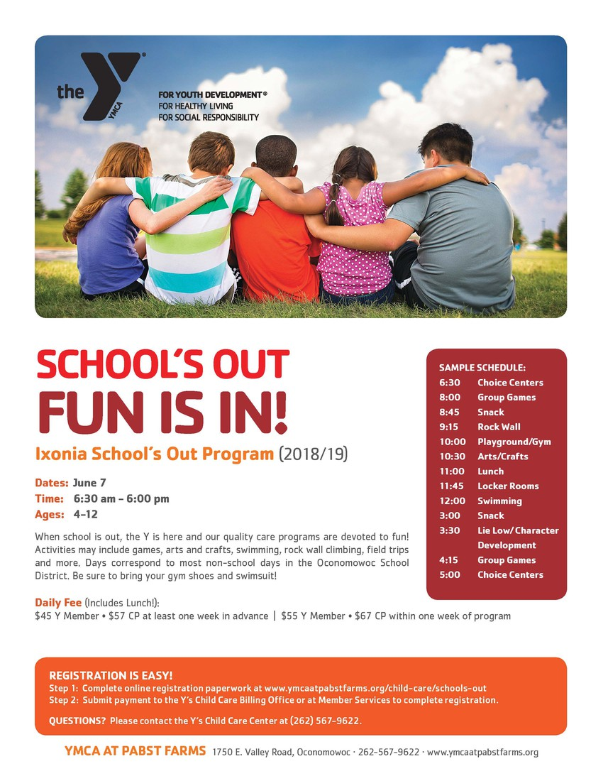 Ixonia Elementary School | Smore Newsletters for Education