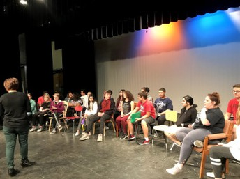 Cast Ready to Shine in Spring Musical 'Cindrella'