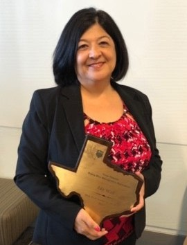 Alief ISD Director of Risk Management Ida Wall was named Risk Management Professional of the Year by Texas PRIMA.