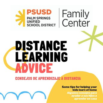 Distance Learning Tips & Resources