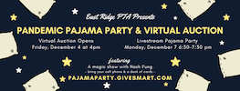 ERPTA Virtual Auction and Pajama Party