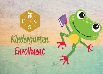 Kindergarten Enrollment Information