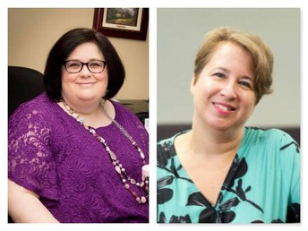 Dr. Amy Thompson and Dr. Donna Wake: