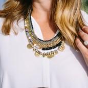 Collette Statement necklace