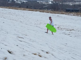 Sledding Fun!