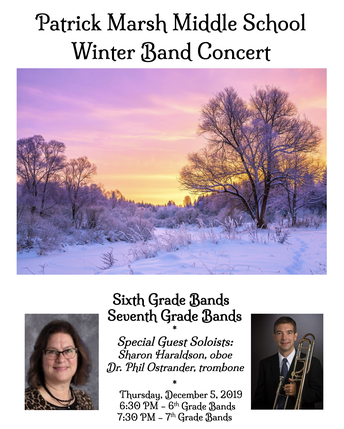 Winter Band Concert THIS Thursday!