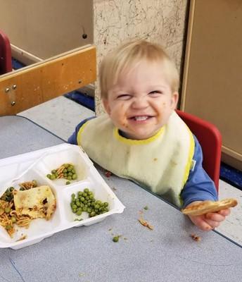 Big Fan of School Lunch!