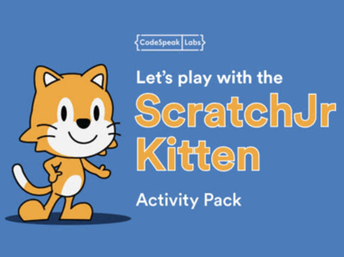 Let's Play with the ScratchJr Kitten
