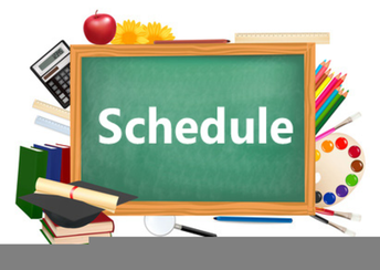 Student Schedules for September 2-4