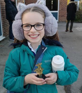 Y5/6 Spelling Bee winner