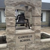 Our beautiful Garfield Elementary bell!