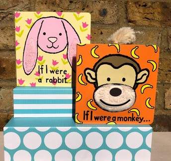 Board Books with soft tails