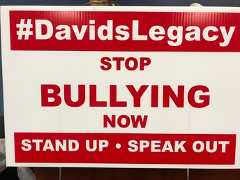 David's Law Presentation & Yard Signs Available