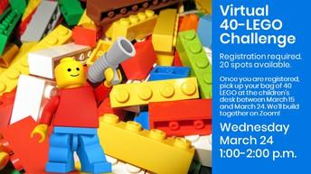 Virtual 40-LEGO Challenge