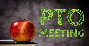 PTO Meeting on Zoom Thursday Night at 7:00 PM