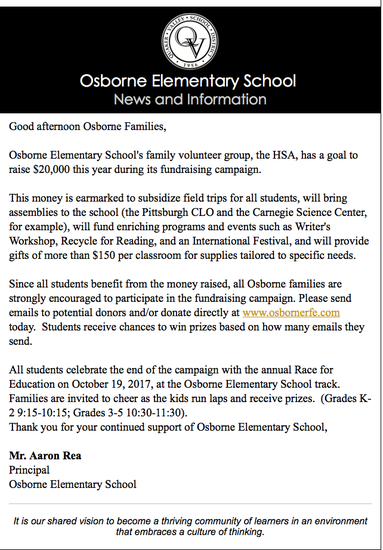 RACE FOR EDUCATION UPDATE | Smore Newsletters for Education