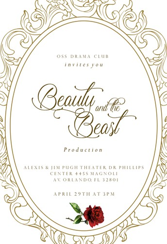 Drama Club Presents Beauty and the Beast